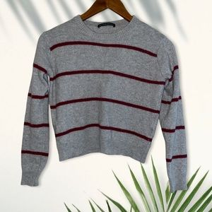 Brandy Melville striped pullover sweater